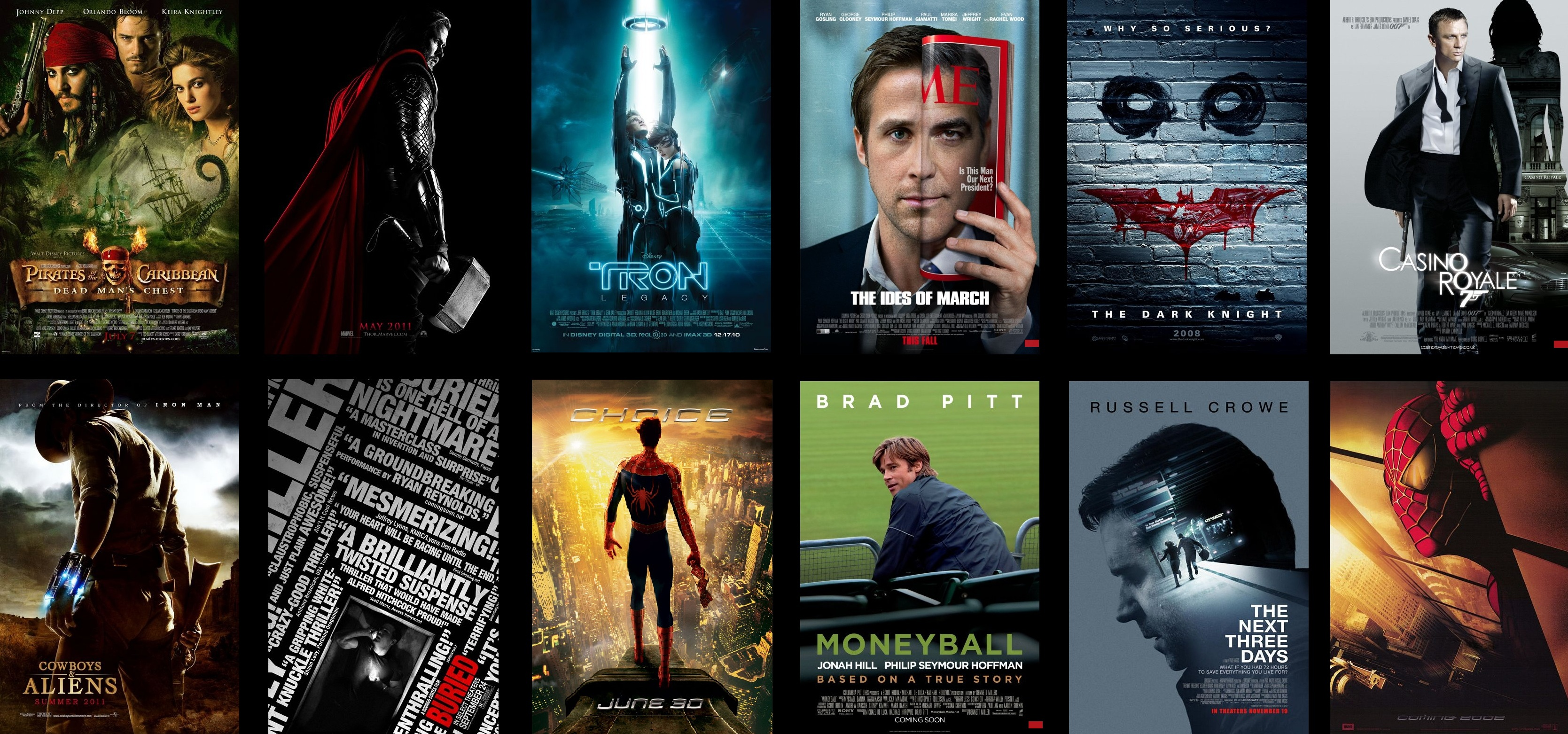 Movie Posters 2011: In TheScarletSp1der's Spotlight: New Posters Of The Week