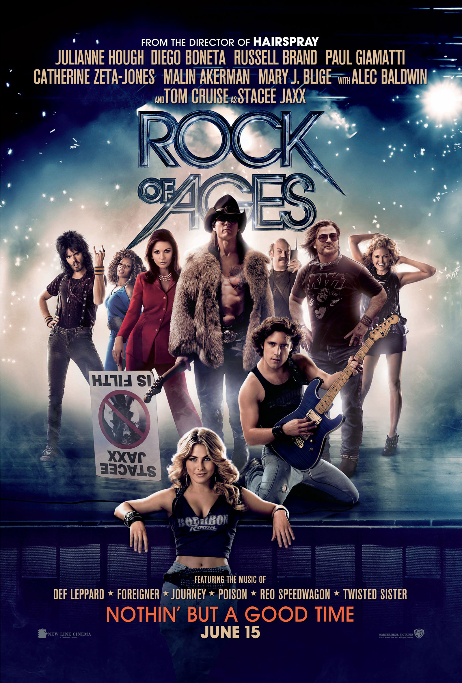 Review: Rock of Ages | The Focused Filmographer Rock Of Ages Movie