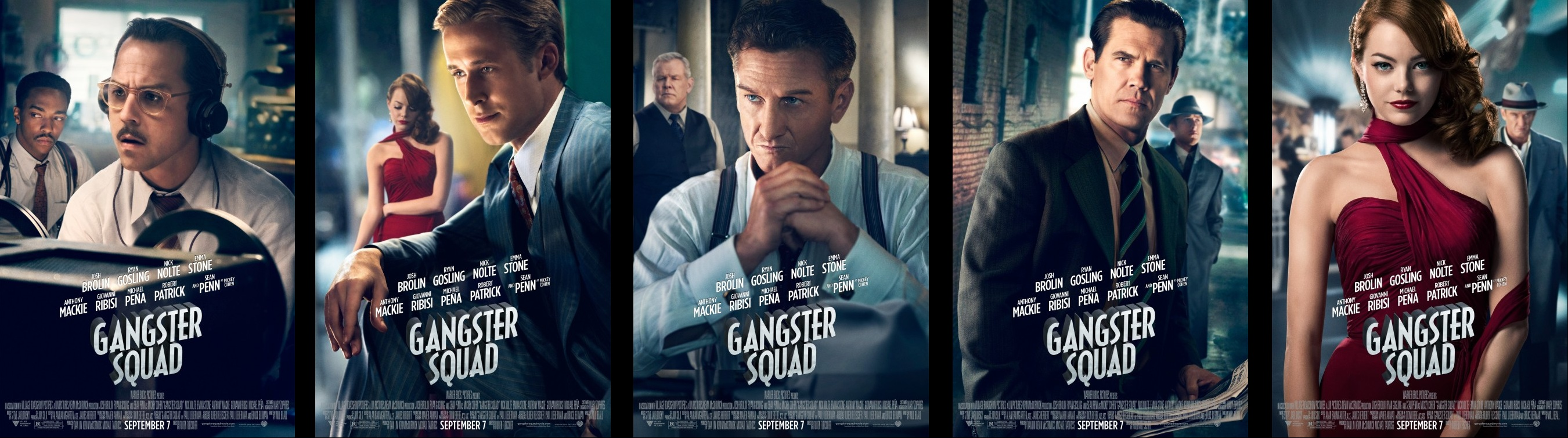 Gangster Squad Cast - Viewing Gallery Ryan Gosling