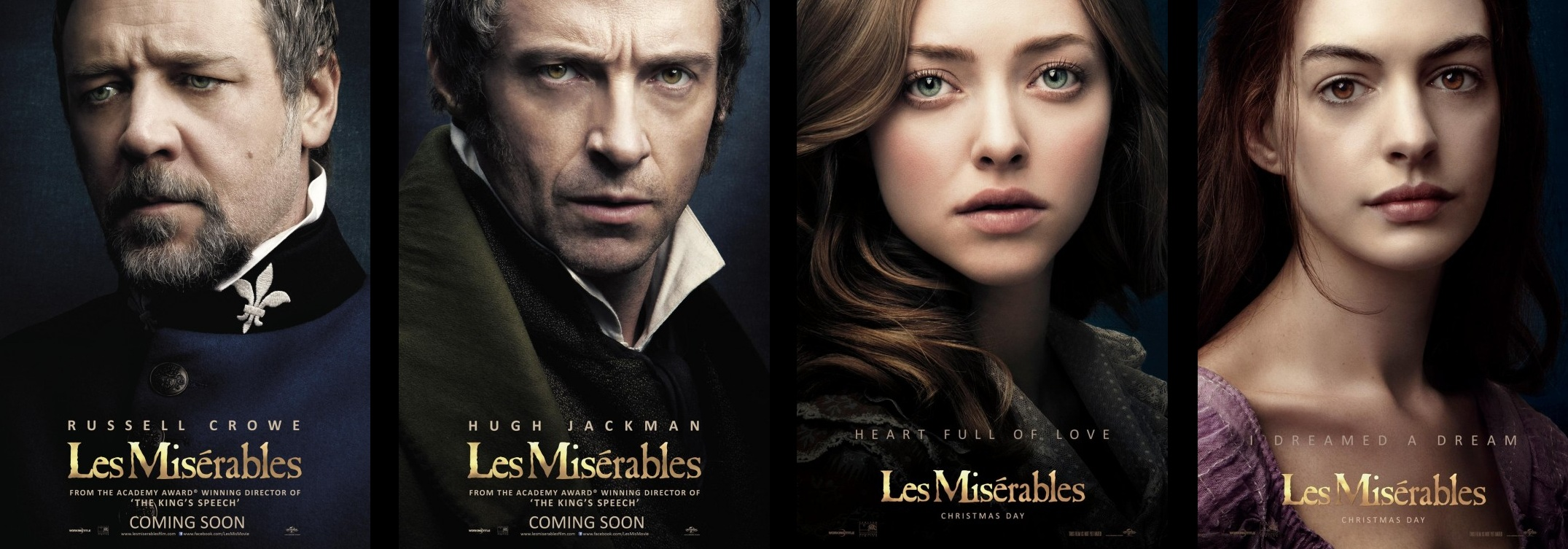 "Poster Spotlight -""Les Misérables"" and ""Gangster Squad"