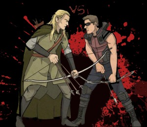 legolas_vs_hawkeye_by_eduardo16002-d552v4q