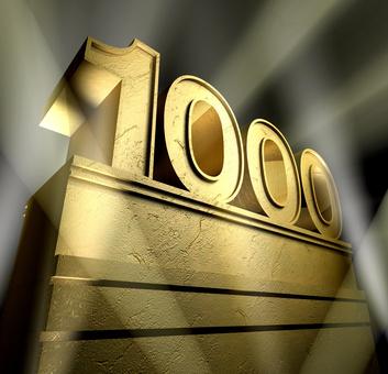 1000 anniversary monument
