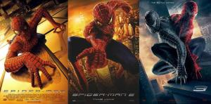 Sam Raimi's Spider-Man Trilogy Poster