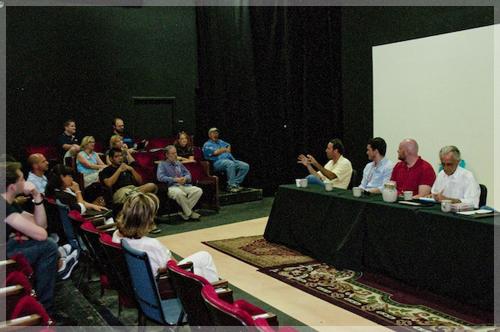 A workshop session at The White Sands International Film Festival
