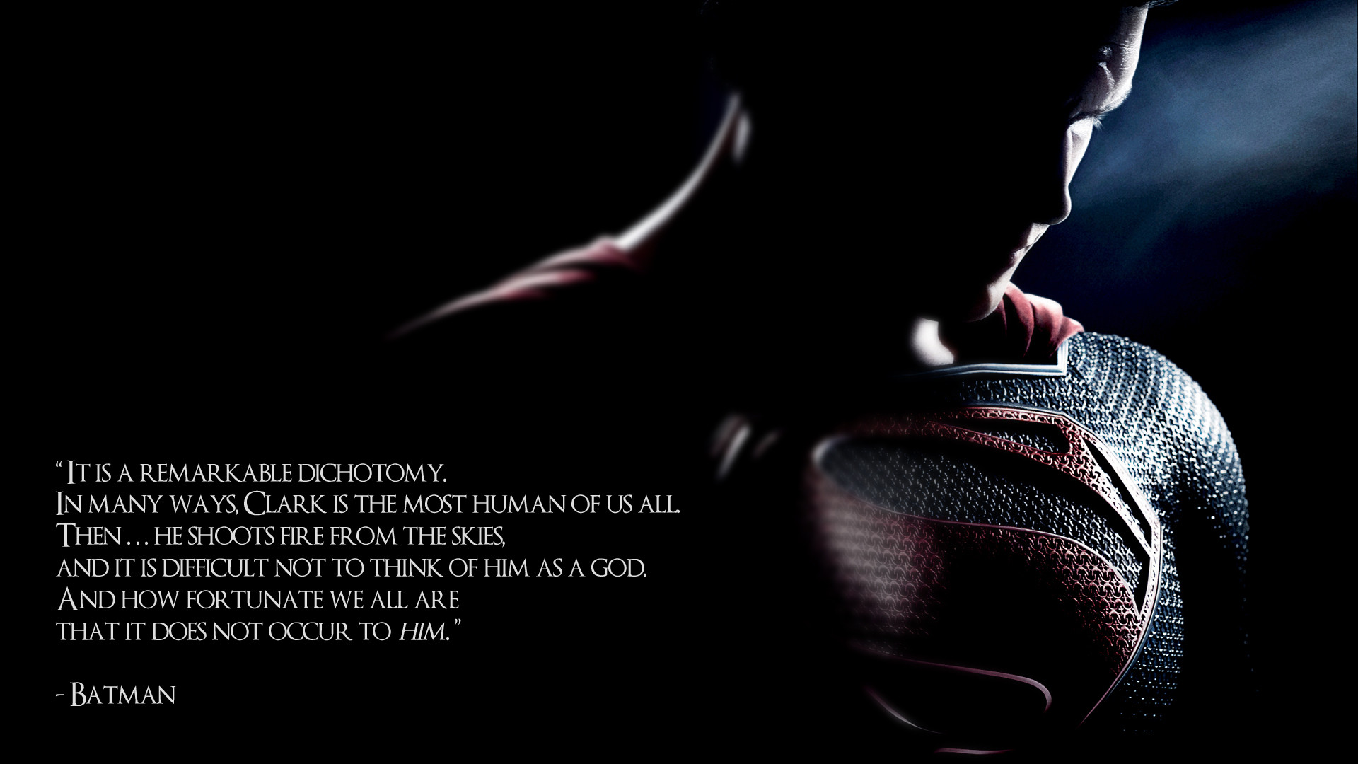 Man Of Steel Quotes Superman A History And A New Hope  The Focused Filmographer