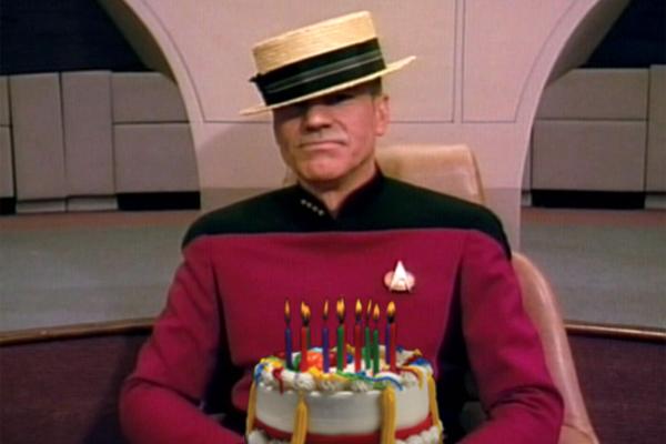 Star Trek Birthday Cake  Film