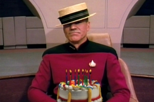 Captain Picard has a cake for you!
