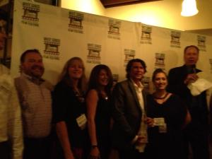 Members of WSIFF board with Lou Diamond Phillips