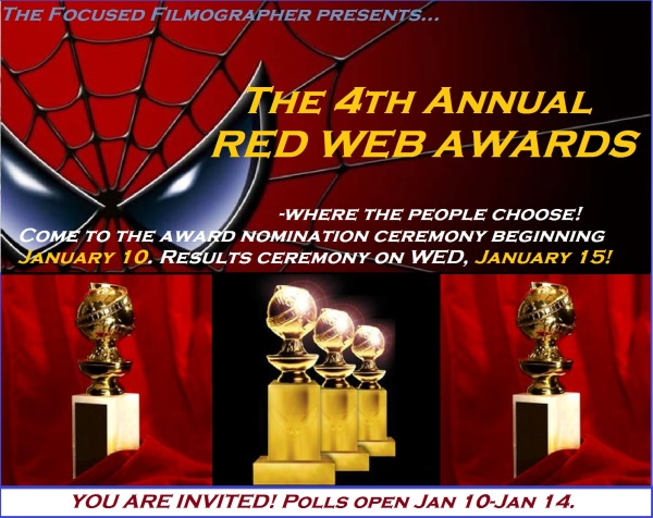 4th annual red webs