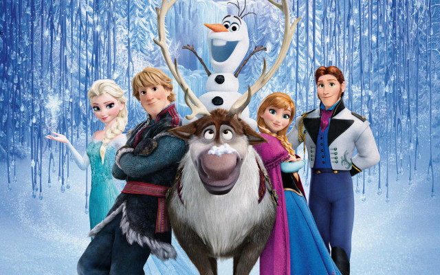 """Olaf: """"See, I'm not the only """"cool"""" one around!"""""""