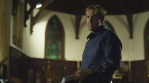 "David A.R. White plays a pastor in ""God's Not Dead."""