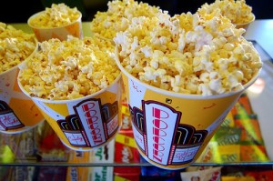 movie theater popcorn summer